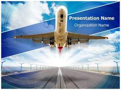 Road cones vlc powerpoint template is one of the best powerpoint airplane takeoff powerpoint template is one of the best powerpoint templates by toneelgroepblik Choice Image