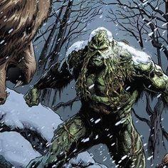 "Swamp Thing by Jason Fabok and Brad Anderson #dccomics #comicbooks #comics"""