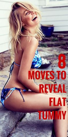 8 Moves to Reveal Flat Tummy | Wokoutsly