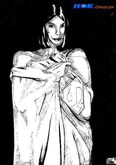 """""""Lois"""" - Ink on paper 1997"""