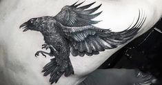 """Crow tattoos surely look badass, but what are the mythological stories behind them?"""