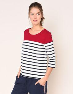 Damen Via Cortesa   ADLER Mode Onlineshop Jersey Shirt, Jersey Cardigan, Streetwear, Arm, Shirts, Tops, Women, Products, Fashion