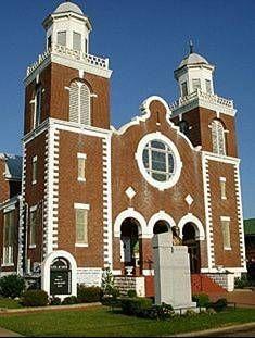 Brown Chapel AME Church Selms, Alabama.