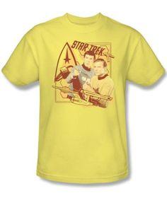 Original-Star-Trek-Kirk-and-Spock-T-Shirt-Sizes-S-3XL