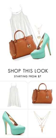 """""""Untitled #393"""" by daaaiu ❤ liked on Polyvore featuring CP Shades, MICHAEL Michael Kors, Forever 21, WithChic, women's clothing, women's fashion, women, female, woman and misses"""