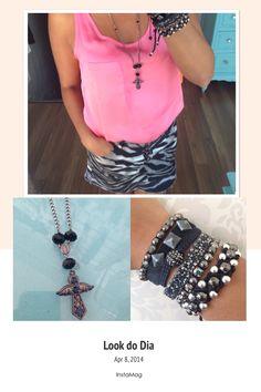 Look zebra x rosa chiclete!!!!
