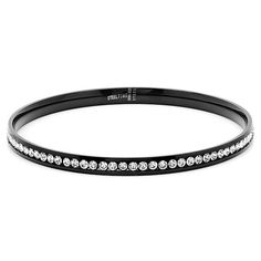 Chic Black Soho Bangle - Save 84% - Just $15--I have some like this that are probably no where near as nice.  They are currently in the dress up section and Jesse and Zoie love them!