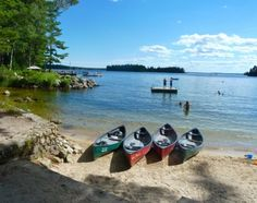 As our world continues to function at an increasingly frenetic pace, I've noticed that many of us have been referencing earlier times, eras of gracious living, when life was not quite so hectic and harried. Lakeside Beach, Camping In Maine, Sea To Shining Sea, Paddle Boarding, Canoe, Old Town, New England, Kayaking, Pond