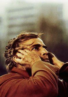 marlon brando em o último tango em paris, 1972, de bernardo bertolucci
