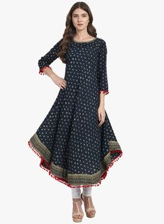 this gorgeous Sangria kurti is for just INR 1125 #Frugal2Fab