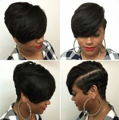 Today we have the most stylish 86 Cute Short Pixie Haircuts. We claim that you have never seen such elegant and eye-catching short hairstyles before. Pixie haircut, of course, offers a lot of options for the hair of the ladies'… Continue Reading → Short Pixie Haircuts, Short Hairstyles For Women, Wig Hairstyles, Straight Hairstyles, Trendy Hairstyles, Beautiful Hairstyles, African Hairstyles, Hairstyles Pictures, Hairstyles Videos