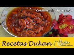 Adelgazar: Confitura de Bayas de Goji y Agar (Dukan Ataque) / Diet Caramelised Agar & Goji Berry Jam