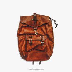 Tộc Leather 93 - Noah Leather Backpack.     Handcrafted by Tộc Leather     [A] - 162/5 Phan Đăng Lưu . P 3 . Q Phú Nhuận . ...