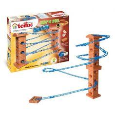 Wygląda na zakręcony:) cóż .. ma aż 3,5 m:)    210 elementowy zestaw Teifoc 800 - Marble Run'N'Roll dla dzieci od lat 6.     Ceramiczne cegiełki w różnych kształtach, podkładka, 2 plany budowlane ... to tylko część:)    Zostań małym architektem i stwórz swoje własne niepowtarzalne budowle!    Udanej zabawy:)    http://www.niczchin.pl/budowle-z-cegielek-teifoc-zestawy/3458-klocki-teifoc-800-marble-run-35m.html    #klockiteifoc #budowlezcegiełek #zabawki #niczchin #kraków