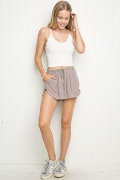 Brandy ♥ Melville | Eve Shorts - Bottoms - Clothing