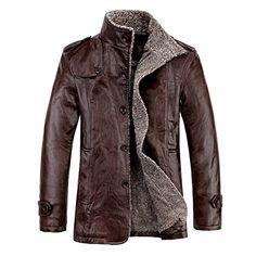 Herren Winter Leder Mantel Duffle-Mantel in 3/4 Laenge mit Schulterklappe peacoat(50,Brown) Fashion Season http://www.amazon.de/dp/B00N4OK1DU/ref=cm_sw_r_pi_dp_bBdbub1MWAG9N