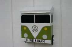 Hey, I found this really awesome Etsy listing at https://www.etsy.com/listing/166329844/eden-green-locking-volkswagen-bus-porch