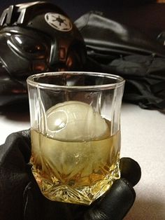 Death Star ice sphere mold.  Because this is how whisky should br drunk.