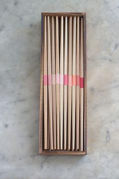 Young Cedar Chopsticks