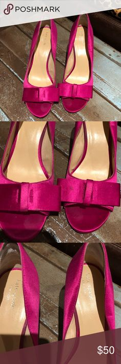 Kate spade heels Beautiful stunning hot pink heels kate spade Shoes Heels