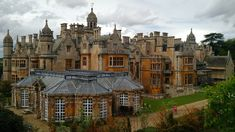 Harlaxton Manor in Grantham, England. A guy had this built just for him to live in. Alone. - Imgur