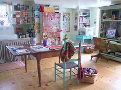 Creative studio of fiber artist Kristin Nicholas