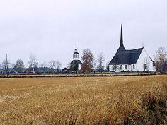 Vöyrin kirkko. Kuva: MV/RHO 125597:1 Erkki Härö 1972