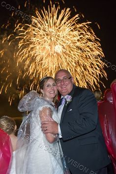 Wedding on Hornblower Firework Cruise, Niagara Falls