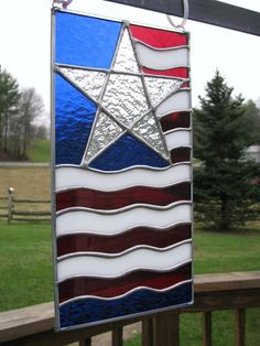 Abstract Flag Panel by artfreakin on Etsy, $66.00