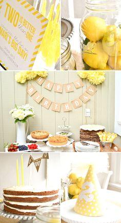a sunny 2nd birthday { alison salcedo ofpaper{whites} via shop sweet lulu}