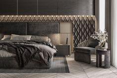 Modern Luxury Bedroom, Luxury Home Decor, Modern Room, Luxurious Bedrooms, Home Room Design, Master Bedroom Design, Interior Decorating Styles, Interior Design, Bedroom Cupboard Designs