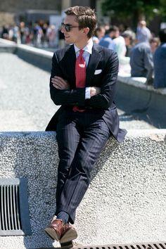 Pitti Uomo 86 street style. Style - Il Magazine Moda Uomo del Corriere della Sera