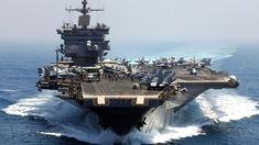 USS Enterprise, the world's first nuclear-powered aircraft carrier.