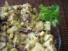 Curried Cranberry Chicken Salad Recipe - Food.com