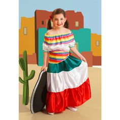 Disfraz de Mexicana #disfraces #carnaval