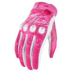 Pink icon gloves