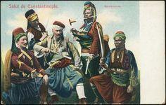 Bashi-bazouk Ottoman Postcard - Başı Bozuk – Wikipedia