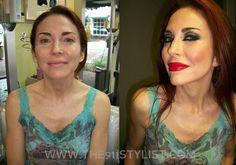 Model Shoot Makeover#beforeandafter#orlandomakeupartist