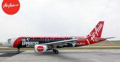 """AirAsia """"Apprentice Asia"""" Livery"""