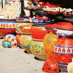 Santo Stefano di Camastra, Sicilia, ceramiche