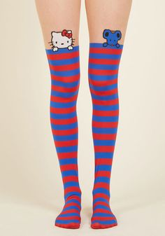 Vacation to Kawaii Tights, @ModCloth