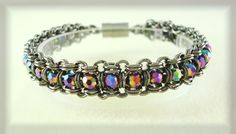 2-in-2 Chainmaille Tennis Bracelet | JewelryLessons.com