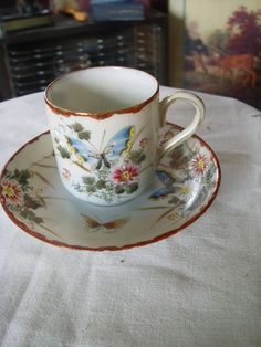 Butterfly Demi Cup and saucer