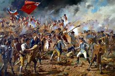 Storming of Bunker Hill Don Troiani