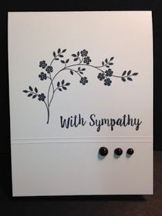Image result for simple homemade sympathy cards