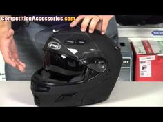 Gmax GM54 Modular Helmet Review at Competition Accessories  With a street price that is well under $150, the GM54s provides a lot of features that are normally reserved for helmets costing two or three times the price. The chinbar mechanism on the Gmax GM54s latches securely with metal locking posts and hooks, and operates with a simple lever located on the front of the chinbar.  http://www.youtube.com/watch?v=2LX6MYbXerw=share  www.allsporthelmets.com  - sport helmets for men women and…