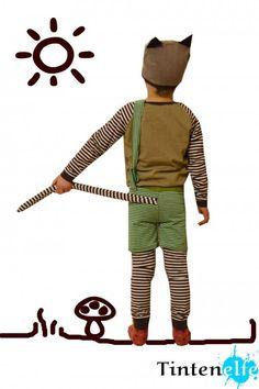 Nähen für Kinder – Ein Findus-Kostüm