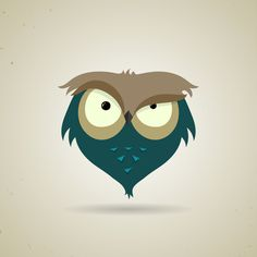 The owls are not what they seem on Behance