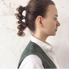 毛先編み遊び?☺︎ Business Hairstyles, Wedding Hairstyles, Kawaii Hairstyles, Hair Arrange, Hair Setting, Braided Hairstyles Tutorials, Face Hair, About Hair, Hair Designs