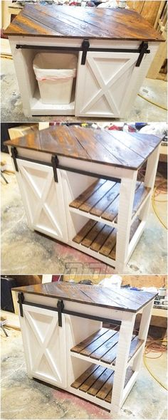 42 Classy Diy Pallets Ideas For Your Home Furniture To Try Now Stilvolle 42 noble Diy Paletten-Ideen Diy Pallet Projects, Home Projects, Diy Wood Furniture Projects, Repurposed Wood Projects, Cool Wood Projects, Projects To Try, Kitchen Decorating, Decorating Ideas, Palette Diy